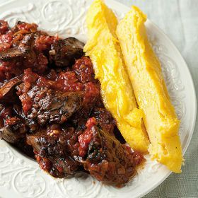 Polenta+fingers+and+chicken+livers+