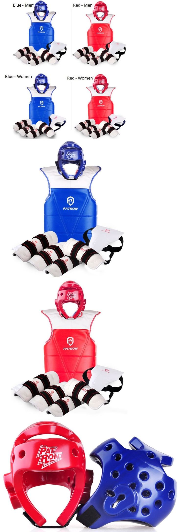 Other Combat Sport Protection 179783: Taekwondo Sparring Gear Complete Safety Full Set Training Protection Equipment -> BUY IT NOW ONLY: $138.88 on eBay!