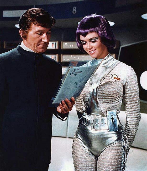 Space Girl, Retro-Futuristic, UFO, Lt. Gay Ellis