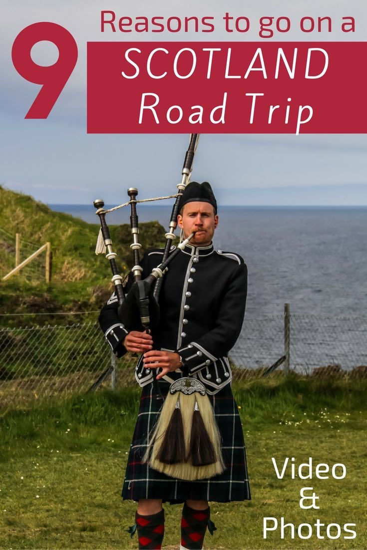 A Scotland Road Trip offers you lochs, castles, Abbeys, cliffs, archeological sites, incredible skies, mountains and so much more! Discover in video and photos why it should be you next destination - http://www.zigzagonearth.com/scotland-road-trip/