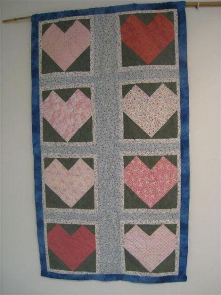 """Wall hanging quilt """" Nurture"""""""