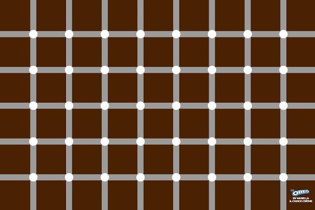 Oreo - Optical illusion print ad