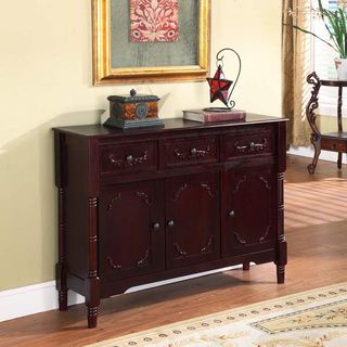 (199.79) Cherry Finish Traditional Console Table  215.99  42  wide x 12  long x 31  high