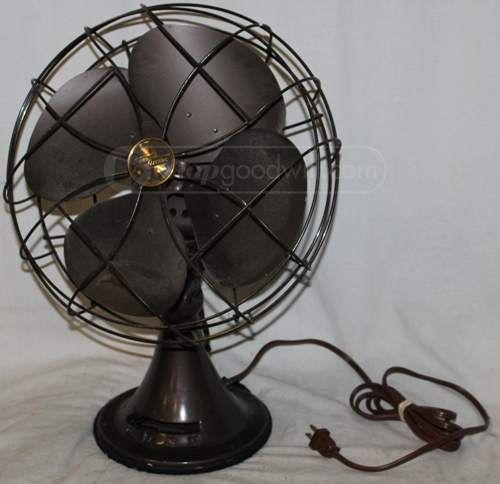Vintage Emerson Electric Metal Table Fan Young Again Fans
