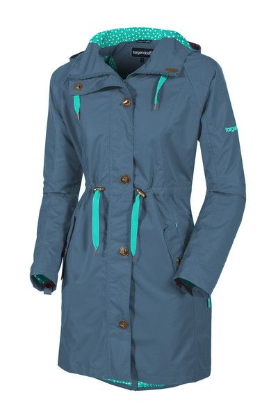Target Dry Ladies Alexa 3 4 Length Parka Coat - Ombre Longer Length Ladies Raincoat The perfect springtime cover-up the Alexa Parka is lightweight