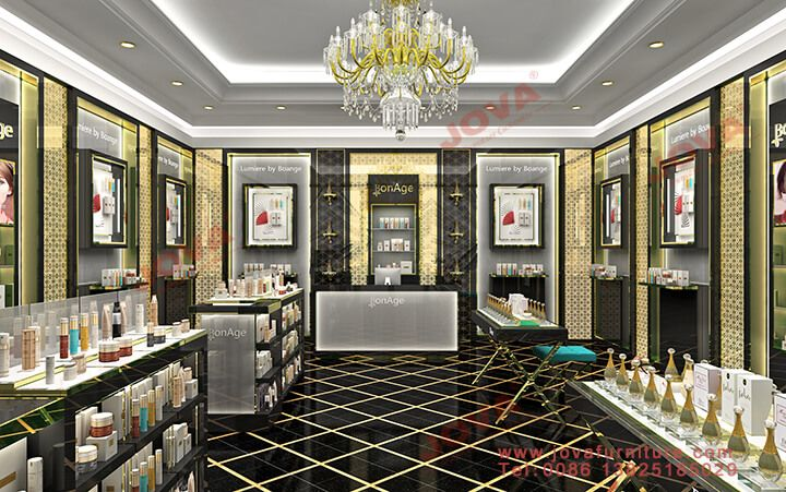 Luxury Perfume Shop Interior Design In Middle East Style With Images