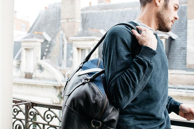 #sac #voyage #weekend #48h #Hacter #HacterConcept #cuir #vachette #noir #denim #brut #recyclé #mode #homme #fashion #men #bag #travel #trip #journey #leather #calfskin #black #blue #jean #recycled #ecofriendly #sustainable #coresponsable #éthique #chic #moderne #urbain #trendy Photo : Aurélie Lécuyer #AurelieLecuyer @ledansla