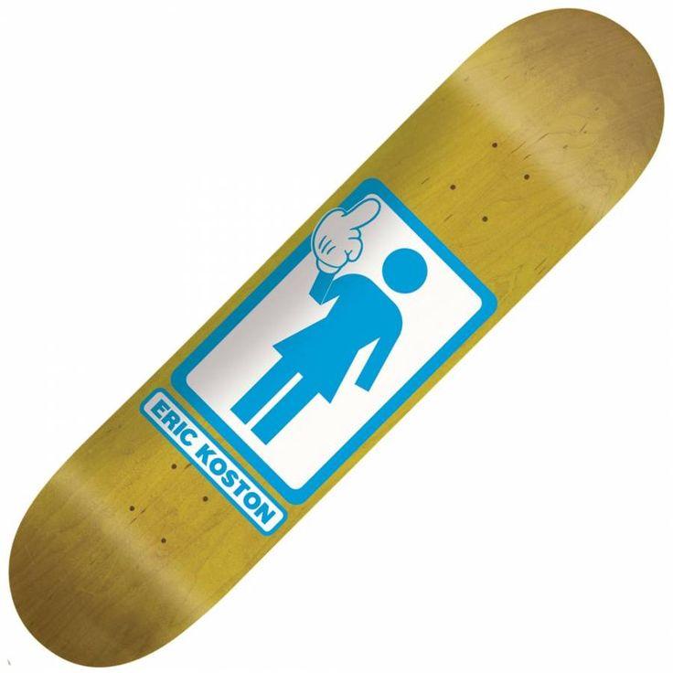Girl Skateboard Decks
