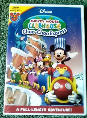 Disney Mickey Mouse Clubhouse:Choo-Choo Express DVD-NEW & Mickey Mote Compatible