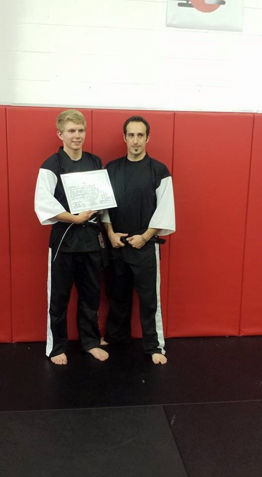 New Black Belts in Karate at Arashi-Do Rocky Mountain House