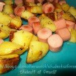 Wurstel e patate | Ricetta funny