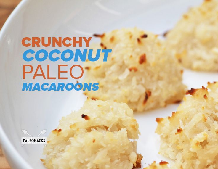 Let the coconut aroma capture your senses with these Paleo Coconut Macaroons.