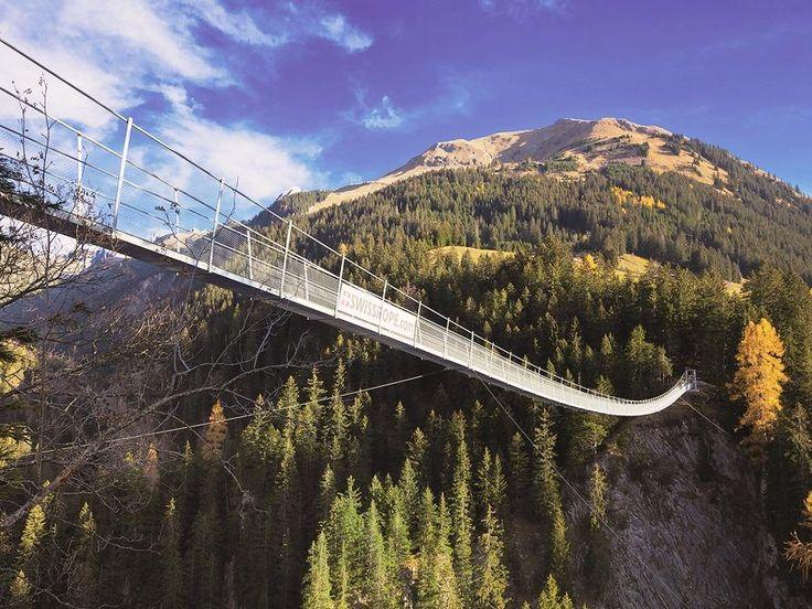 Pont d'Holzgau dans le Tyrol : le plus long et le plus haut d'Autriche