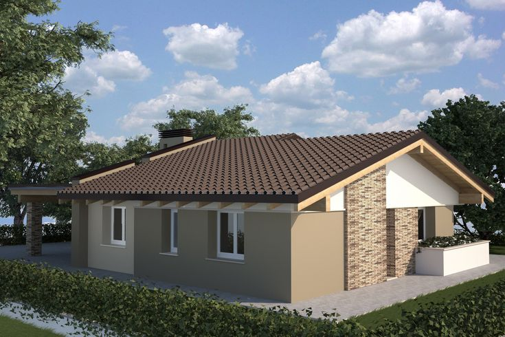 17 migliori idee su case in legno su pinterest case - Case moderne ad un piano ...