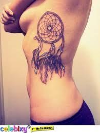 Znalezione obrazy dla zapytania tatuaże łapacz snów