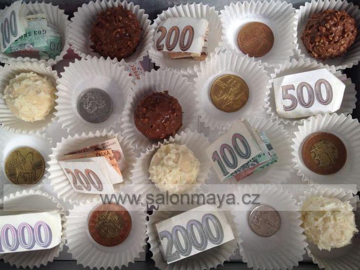 Jak vtipně darovat peníze? svatební dar | Maya
