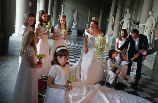 Crown Princess Victoria and wedding party, Sweden