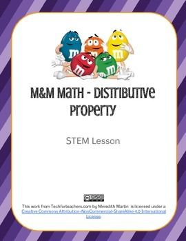 How about a delicious math activity to teach the distributive property? In this STEM lesson, students learn about the distributive property using tasty M&Ms. Includes instructions, student worksheets, and CCSS for math.