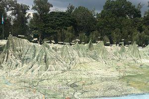 Mapa en Relieve (Relief Map) in Guatemala Guatemala