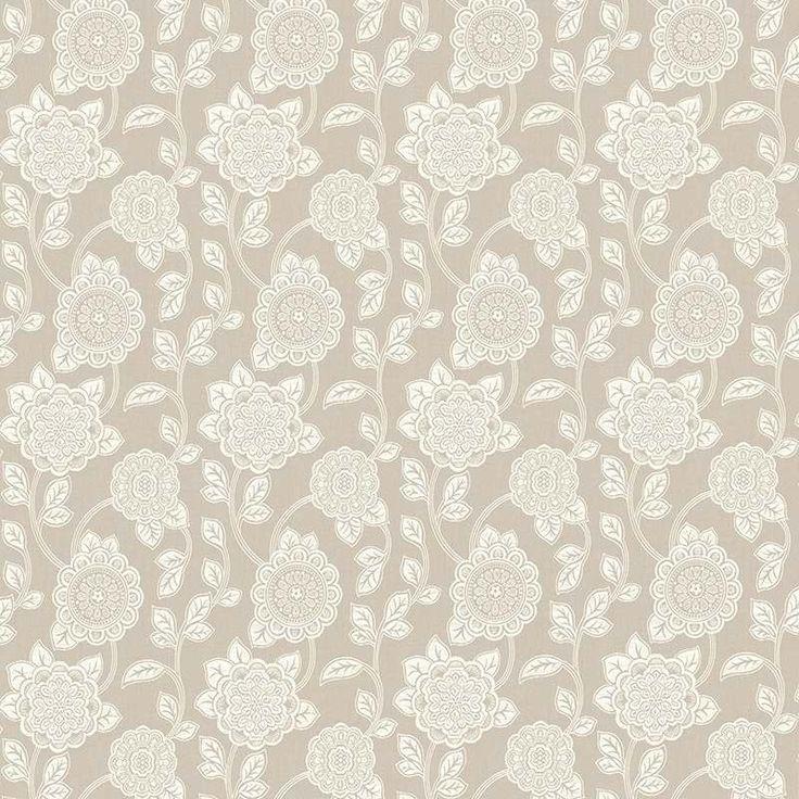 Warwick Fabrics : NAOMI, Colour IVORY