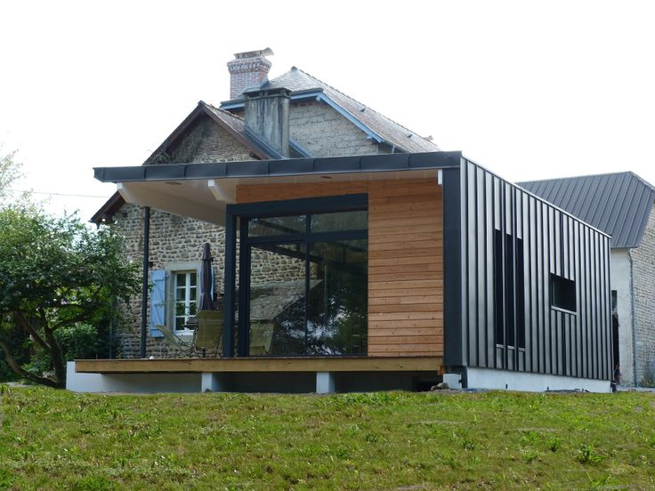 Best 10 zinc toiture ideas on pinterest for Bardage de facade maison
