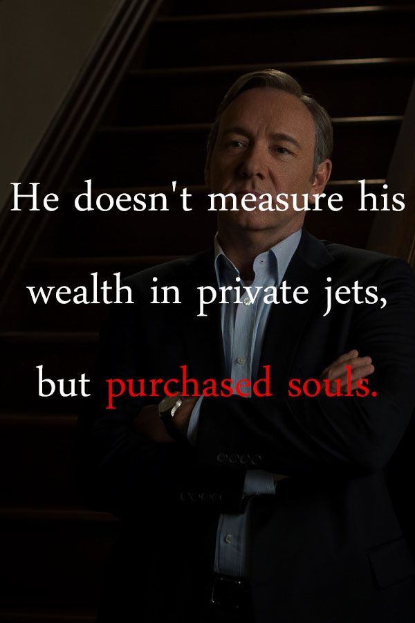 House Of Cards Quotes Photo House Of Cards House