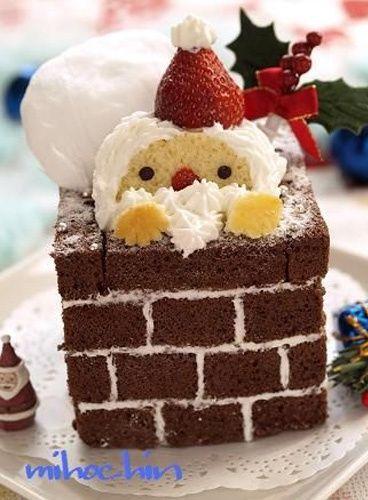 Photo Le brownie cheminée - Food : 100 idées pour se régaler à Noël - Lifestyle - Be.com
