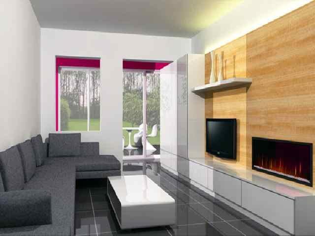 moderne woonkamer tv meubel grijze zetel huis pinterest