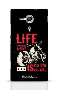 Life Without A Bike Is No Life At All Sony Xperia T3 Phone Case