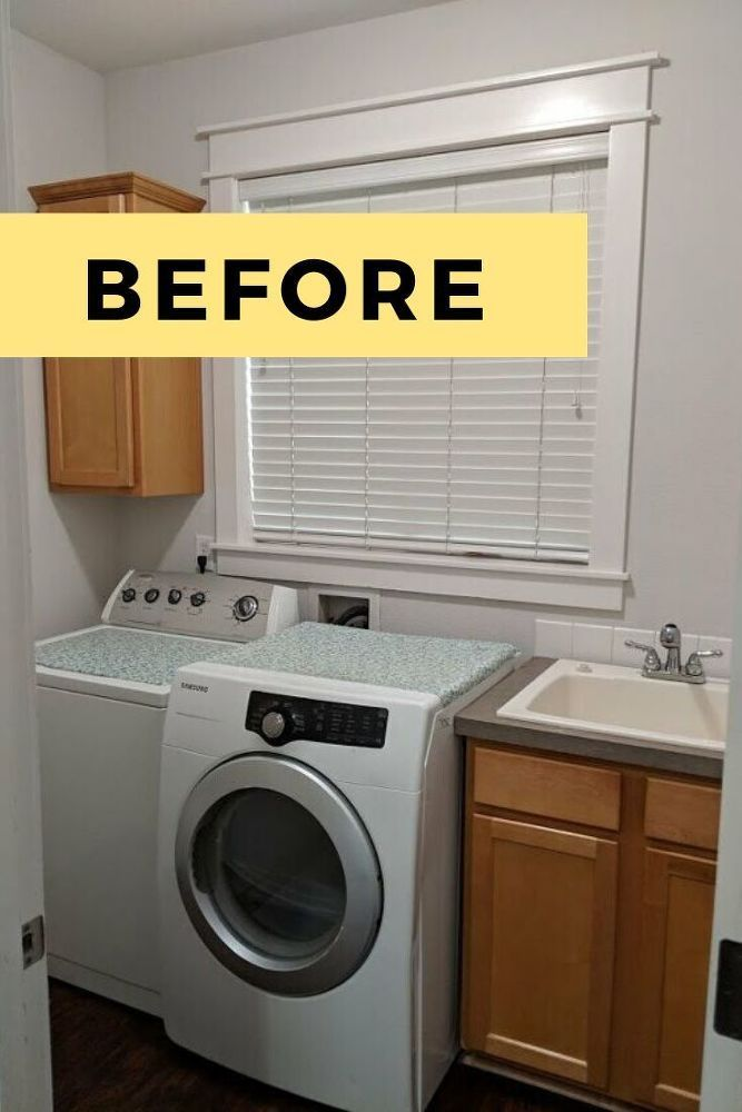 Diy Laundry Room Makeover Idea In 2020 Laundry Room Makeover