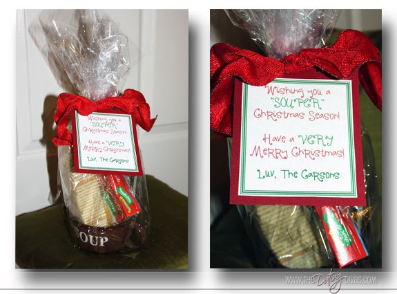 Christmas Treat Ideas for your neighbors or family!Christmas Gift Ideas, Treats Ideas, Christmas Neighbor, Kari Christmastreats7, Christmas Treats, Christmase Souper Gift Jpg, Neighbor Gift, Christmas Ideas, Christmas Gifts