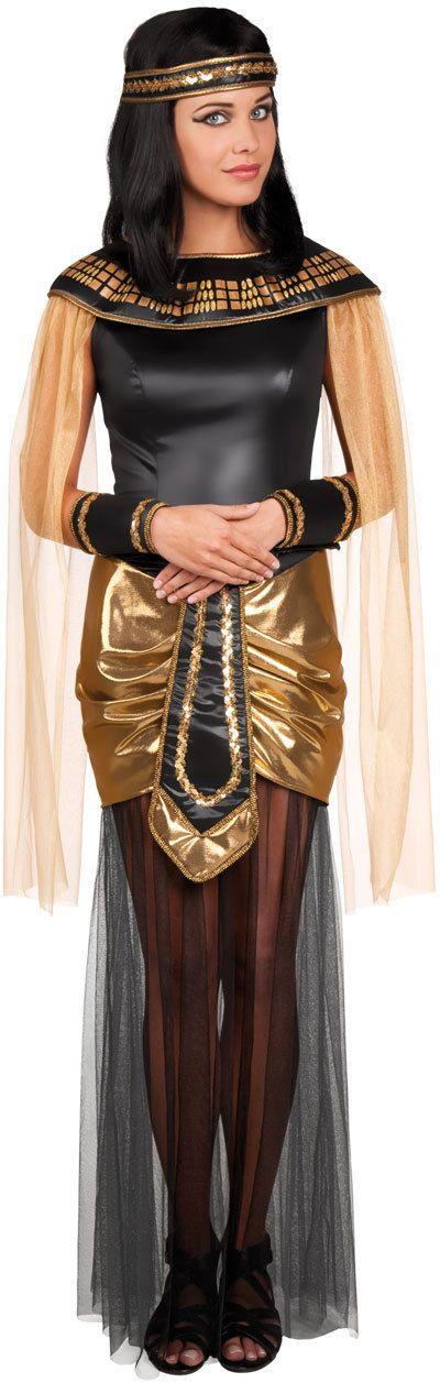 Cleopatra Pharaonin Kostüm Deluxe NEU - Damen Karneval Fasching Verkleidung Kost | eBay