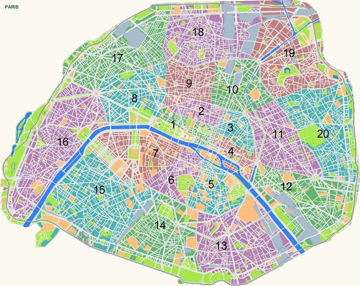 Best Paris Map Ideas On Pinterestno Signup Required Images - Paris map images