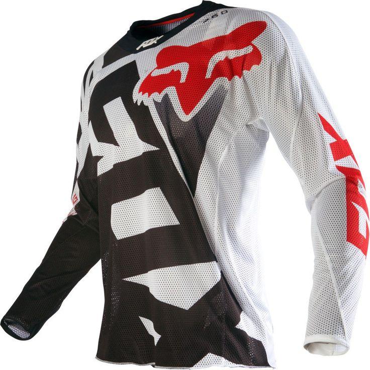 Fox Racing 360 Shiv Airline Mens Off Road Dirt Bike Motocross Jerseys