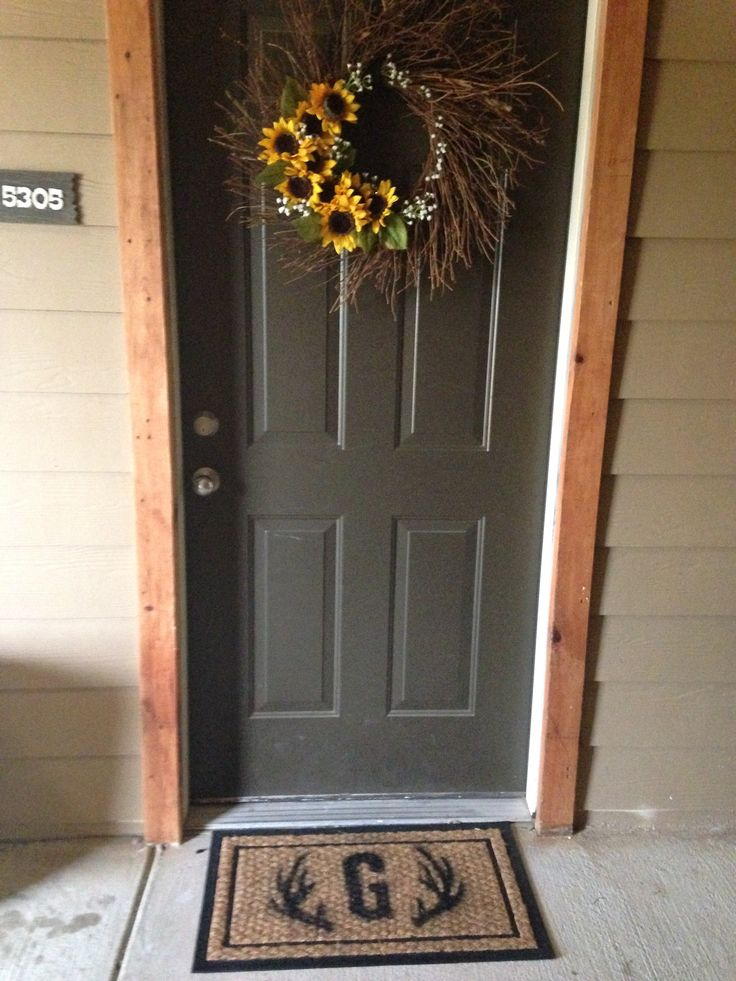 Best 25+ Apartment front doors ideas on Pinterest   Front french ...