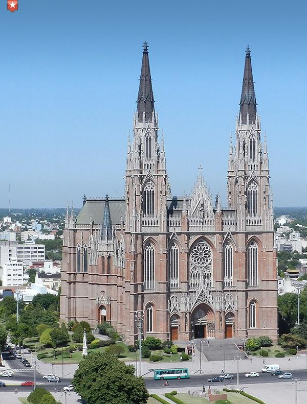 Catedral de la ciudad de La Plata, Buenos Aires, Argentina. #Catedral