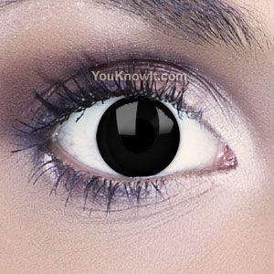 Funky Eyes Black Contact Lenses http://www.youknowit.com/online-shop/funky-eyes-black-contact-lenses71517.cfm