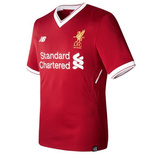New Balance 732252 Men's LFC Mens Henderson Home SS EPL Patch Elite Jersey - Red (MT732252RDP)