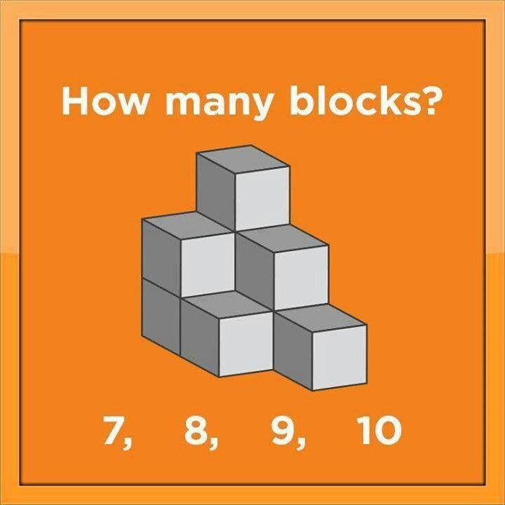 How many blocks?  9