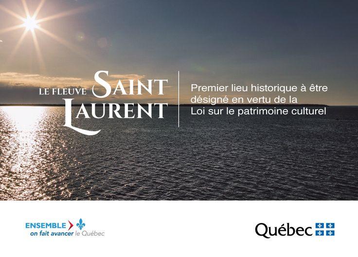 Reconnu comme un des lieux les plus significatifs de l'histoire du Québec et élément phare du patrimoine maritime québécois, le fleuve Saint-Laurent est désormais désigné comme lieu historique. Il s'agit du premier lieu historique à être désigné en vertu de la Ce lien ouvrira une nouvelle fenêtre. Loi sur le patrimoine culturel. #PatrimoineQc #RPCQ