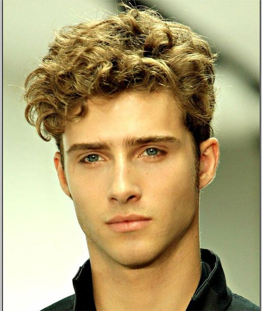 Thick Short Curly Best Hairstyles for Men 2015 - 2016