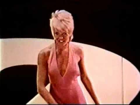 1970's Sexy Joey Heatherton Serta TV Commercial..pretty risque back then !!