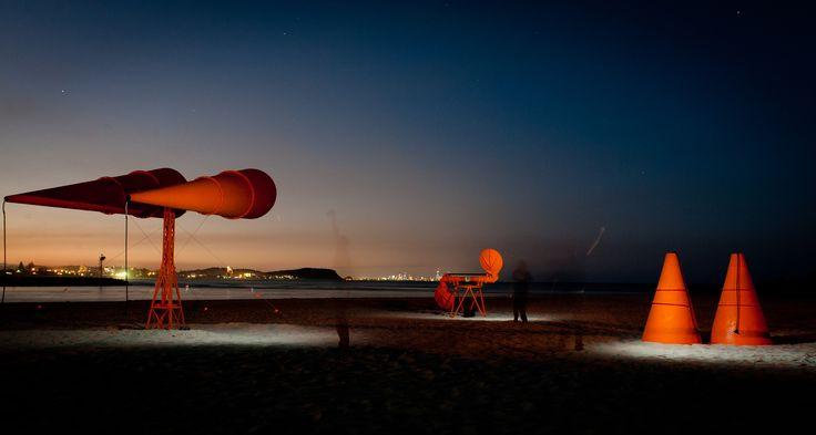 War ears By Pat Hoffie & Stefan Purcell  Swell Sculpture Festival, Gold Coast