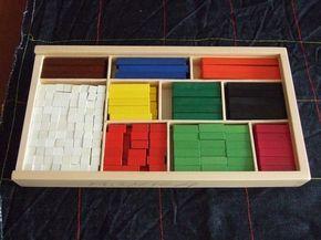 Juegos sencillos con regletas
