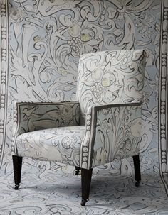 Image result for lewis and wood bacchus used as upholstery image