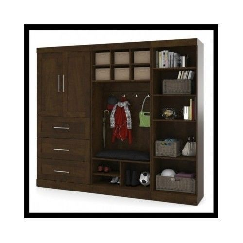 Wardrobe-Closet-Armoire-Bedroom-Furniture-Cabinet-Chest-Wood-Mudroom-Storage-Kit
