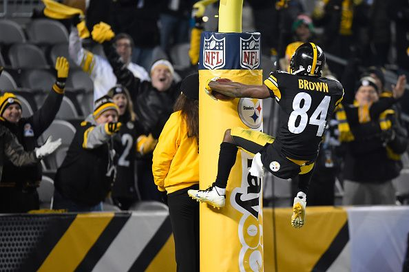 To no one's surprise, the Steelers' players name Antonio Brown 2015 team MVP.