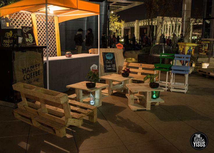 #muebles #plantas #reciclaje, muebles con plantas, construidos con materiales reciclados