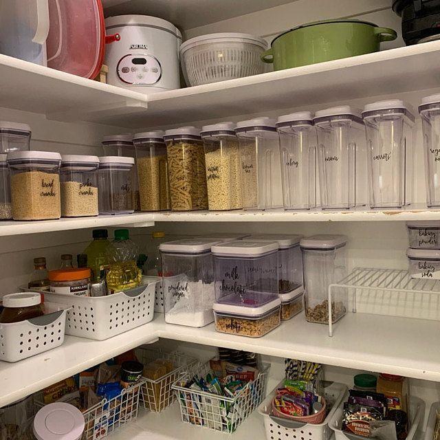 Kitchen Remodel Discover Custom Kitchen Jar Labels Personalized