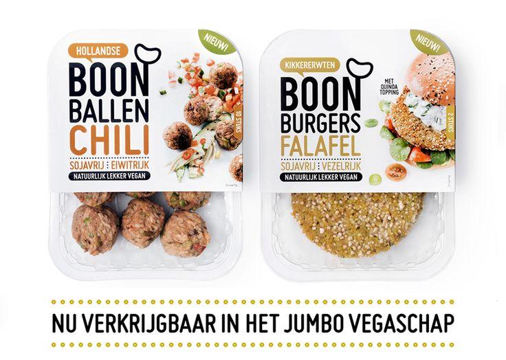 Boon Bonen - vegan chili ballen en falafel burgers bij de Jumbo